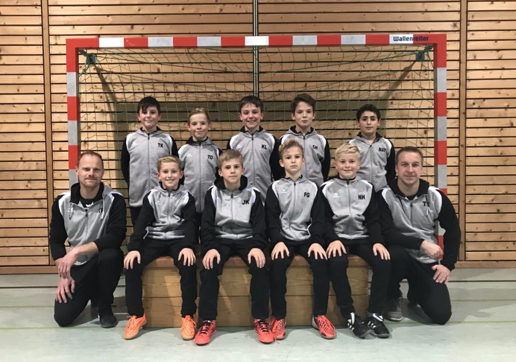 Foto: E-Junioren Mannschaft der SG Oberes Ilmtal – FC Tandern in der neuen Tracht